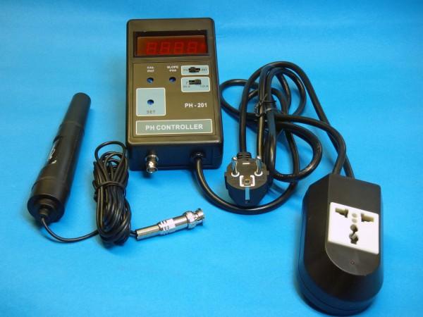 pH-Controller mit Elektrode