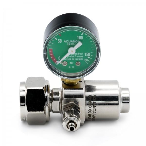 CO2 Druckminderer Basic M1 für Mehrwegflaschen