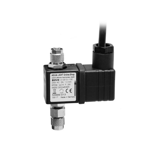 Magnetventil/Nachtabschaltung für CO2 Gas