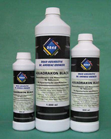 Aquadrakon Black Wasseraufbereiter Flaschen