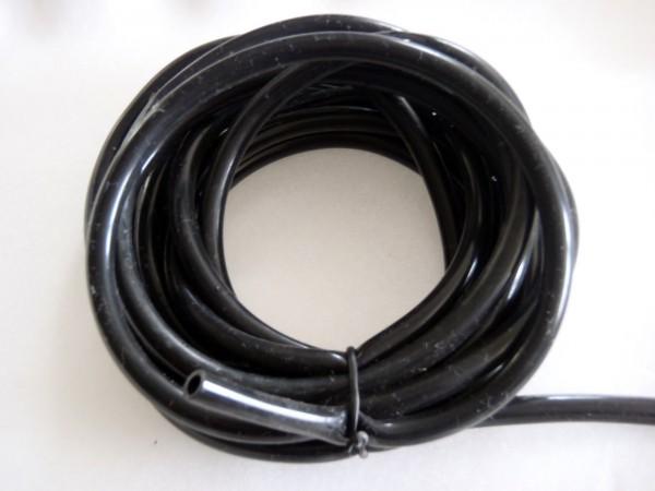 Silikonschlauch schwarz