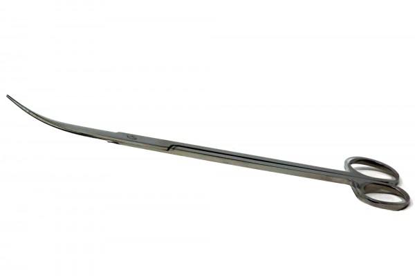 Edelstahlschere gebogen - 25 cm