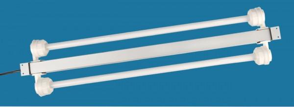 Einbauleuchten/Alu-Leuchtbalken mit T5-Leuchtstoffröhren
