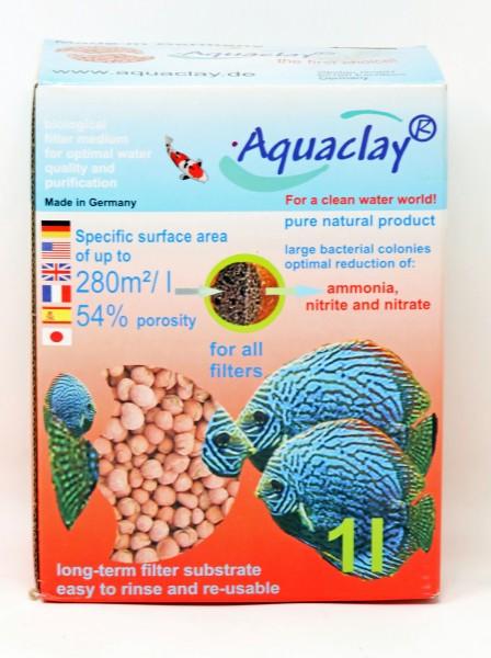 Aquaclay Filtersubstrat in der Verpackung