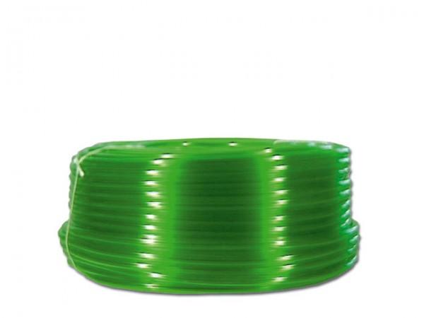 PVC-Schlauch grün transparent