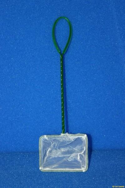 Fischnetz mit feiner weißer Gaze