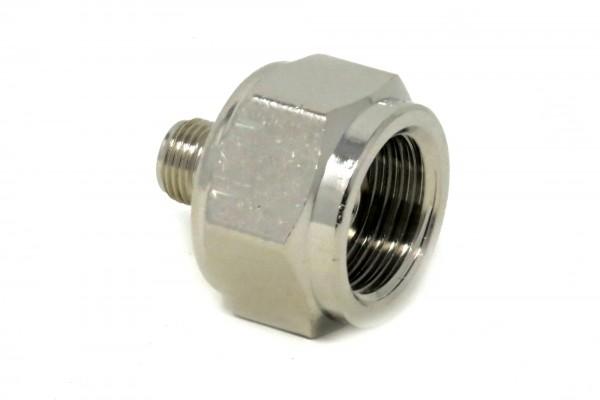 Adapter #1 Einweg Druckminderer m11x1 auf Standard Mehrweg-Flaschen