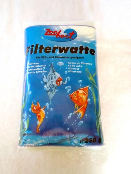 Filterwatte fein weiß