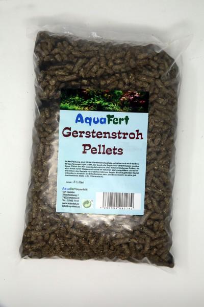 Gerstenstrohpellets für biologische Algenbekämpfung im Aquarium und Gartenteich